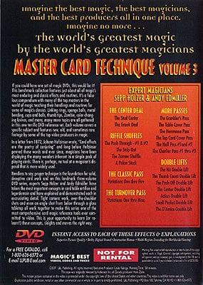 Master Card Technique Volume 3