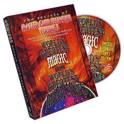 Master Card Technique Volume 3 - magic