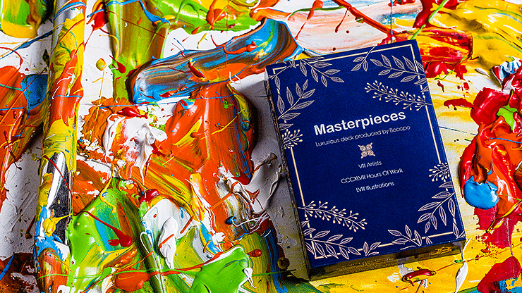 Masterpieces Playing Cards - magic