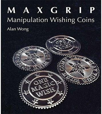 Max Grip Manipulation Wishing Coins - magic