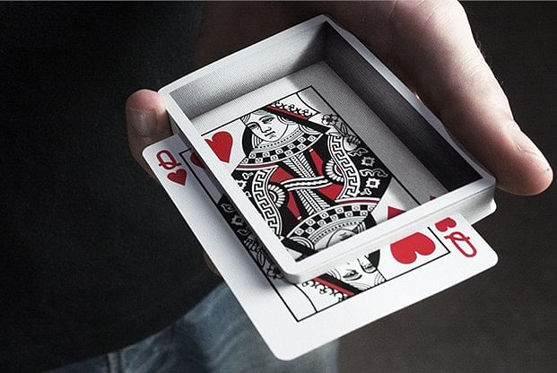 Optricks Deck — Animated Playing Cards (Red Edition)