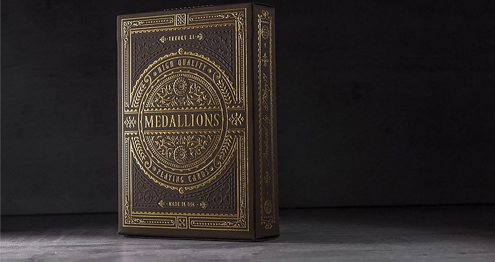 Medallion Playing Cards - magic