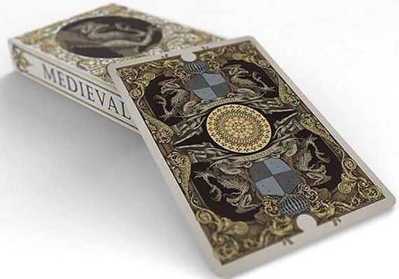 Medieval Gold Edition Playing Cards