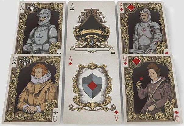Medieval Limited Edition Royal Playing Cards