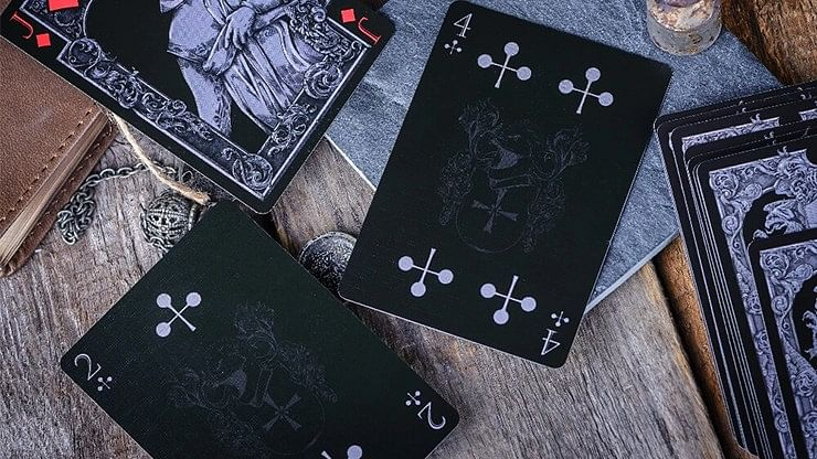 Medieval Limited Edition Stone Playing Cards
