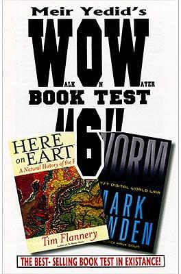 Meir Yedid's Wow Book Test 6 - magic