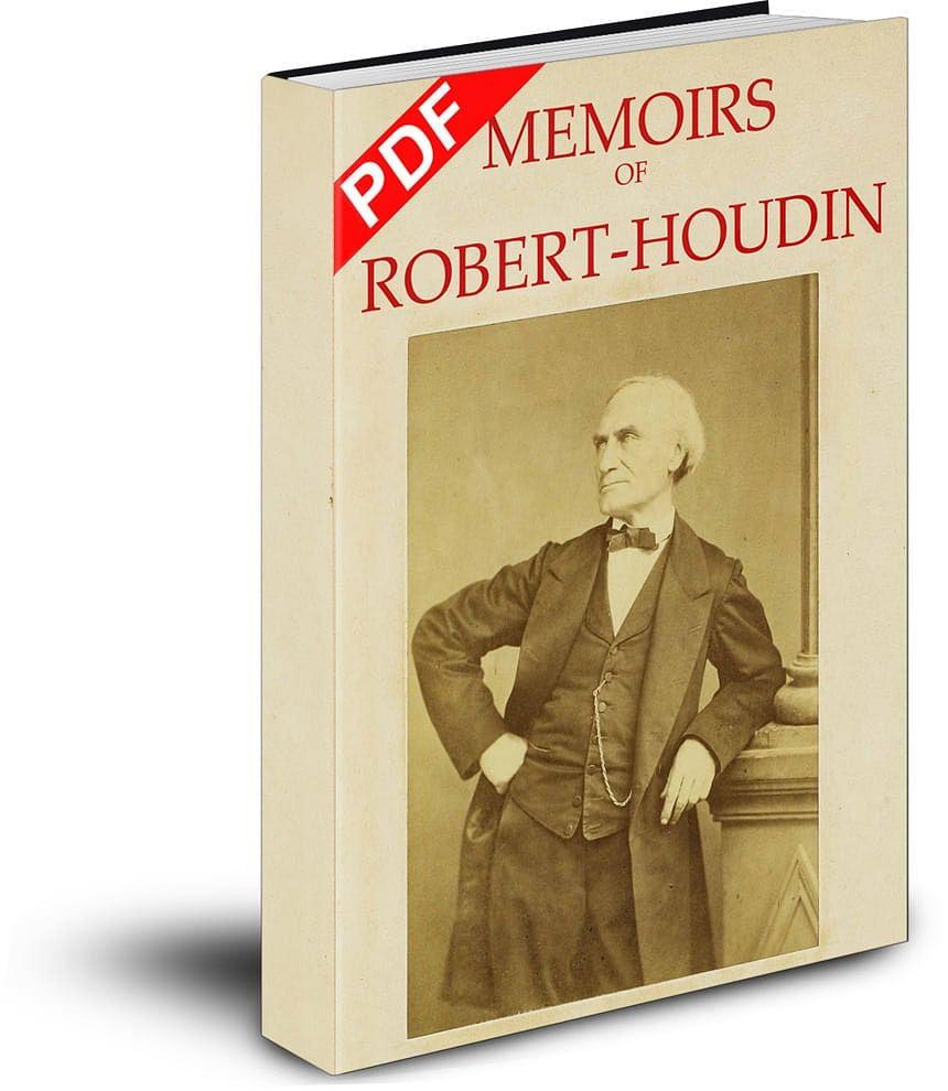 Memoirs of Robert-Houdin - magic