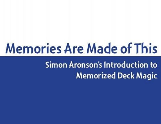 Memories Are Made of This - magic