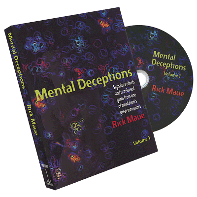 Mental Deceptions Volumes 1 and 2 - magic