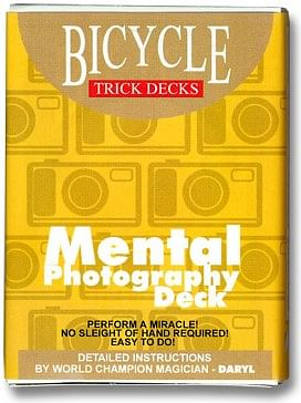 Mental Photo Deck Bicycle - magic