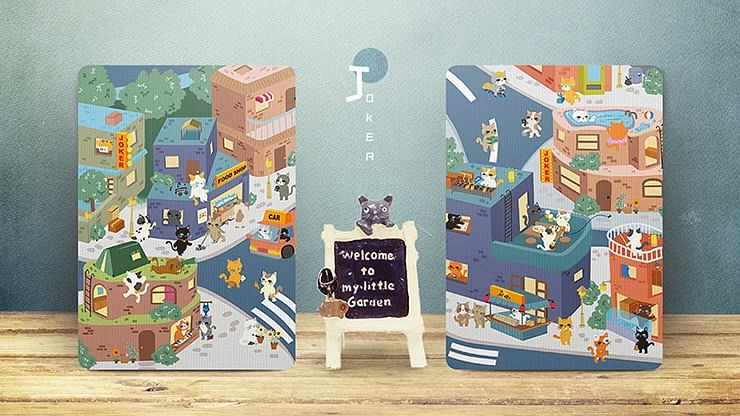 Meow Star Vending Machine  Playing Cards