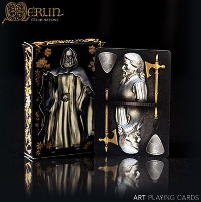 Merlin Illuminations Playing Cards