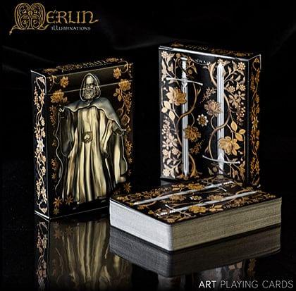 Merlin Illuminations Playing Cards - magic