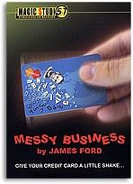 Messy Business Credit Card trick James Ford & Magic Studio - magic