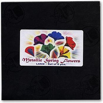 Metallic Spring Flowers - magic