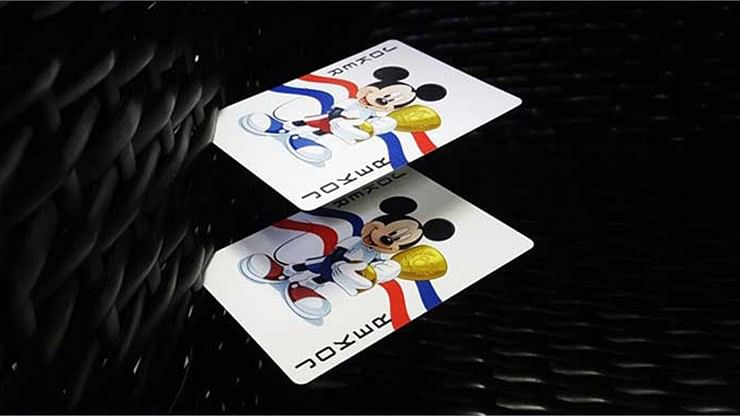 Mickey Mouse and Friends Playing Cards