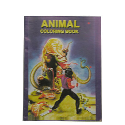 Micro Coloring Book (Animal) - magic