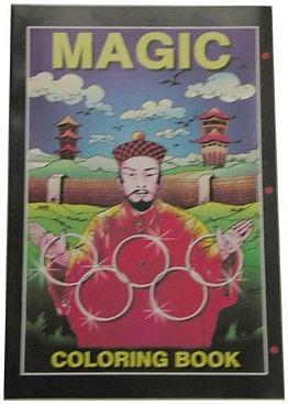 Micro Coloring Book - Magician - magic
