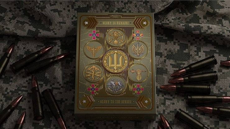 Military Pin-Up Playing Cards