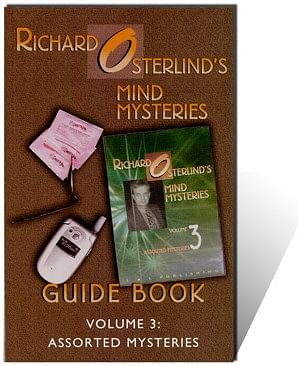 Mind Mysteries 3: Guide Book - magic