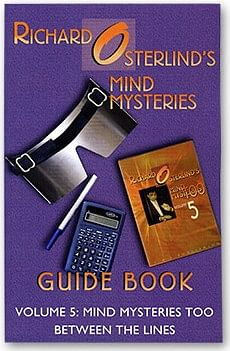 Mind Mysteries Guide Book Volume 5 - magic
