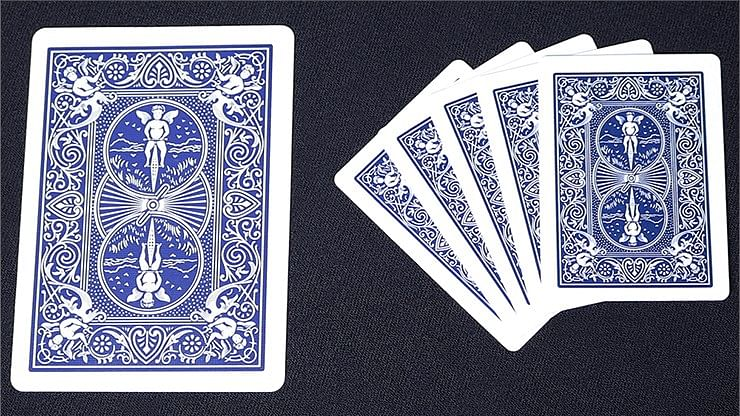 Mini Bicycle Cards - Blue