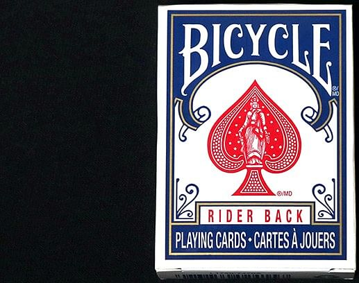 Mini Bicycle Cards - Blue - magic