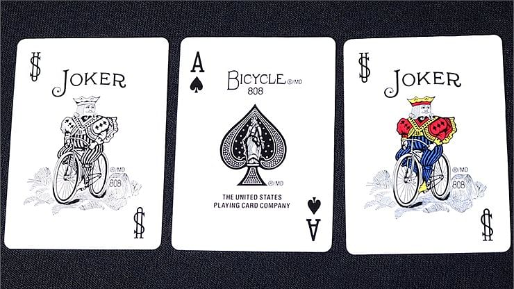 Mini Bicycle Cards - Red
