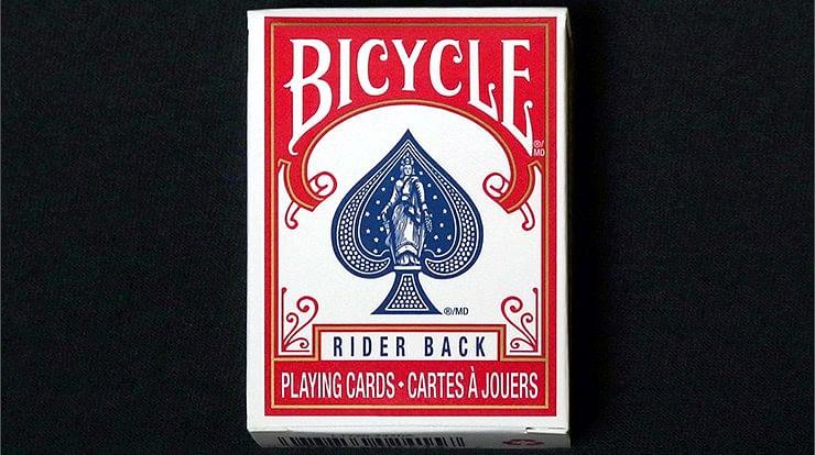 Mini Bicycle Cards - Red - magic