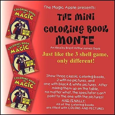 Mini Coloring Book Monte - magic