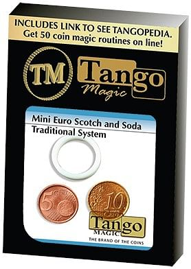 Mini Euro Scotch & Soda Traditional System  Tango-Trick - magic