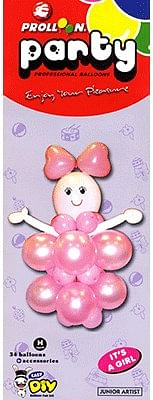 Mini Girl Balloon Kit - magic
