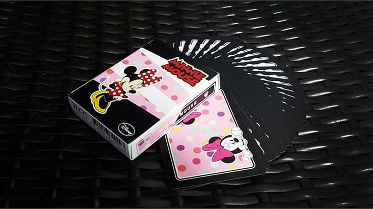 Minnie Mouse Playing Cards - magic