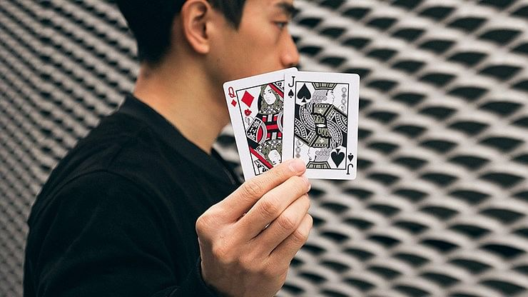 Mirage V3 Eclipse Playing Cards