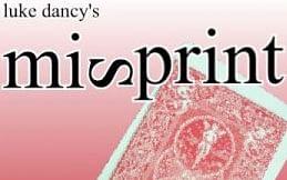 Misprint - magic