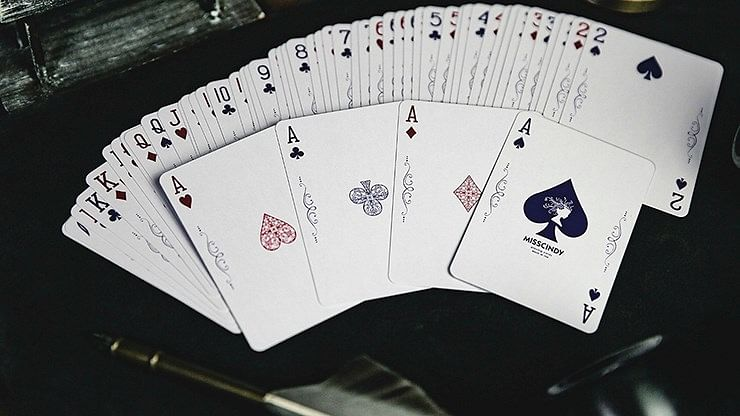 Miss Cindy Playing Cards