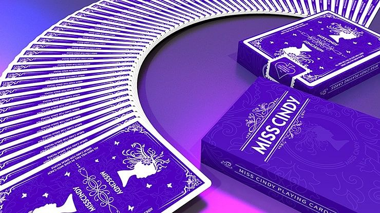 Miss Cindy Playing Cards - magic
