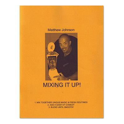 Mixing It Up book Matthew Johnson - magic