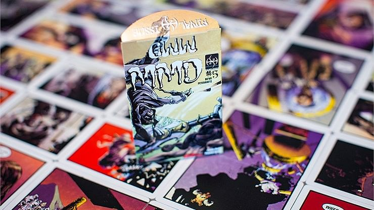 MMD #5 Magicians Must Die Comic Deck - magic