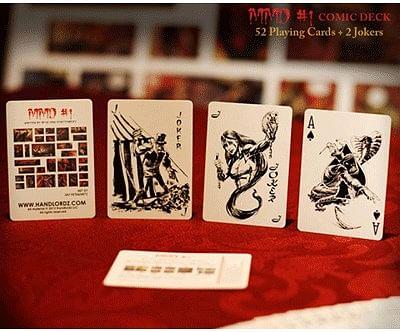 Magicians Must Die Comic Deck #1