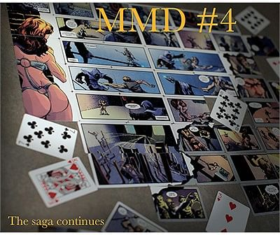 Magicians Must Die Comic Deck #4