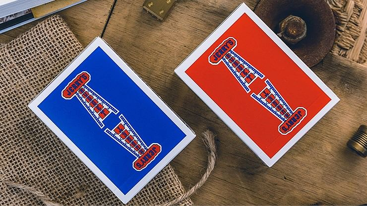 Jerry's Nugget Playing Cards (Modern Blue - Red/Blue) - magic