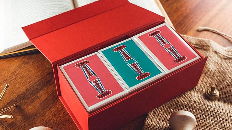 Jerry's Nugget Playing Cards (Modern Feel - Teal)