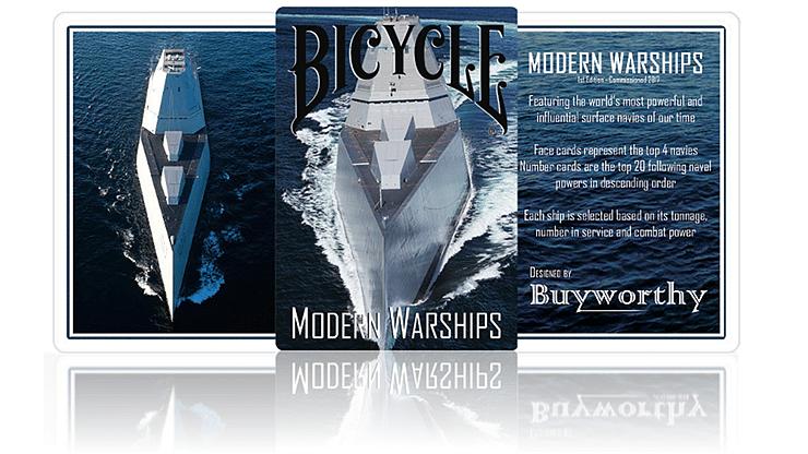 Modern Warships Playing Cards - magic