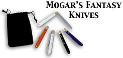 Mogars Fantasy knife  set - magic