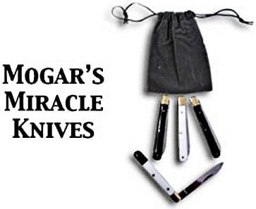 Mogars Miracle Four Knife Routine - magic