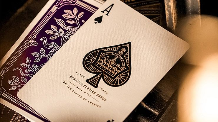 Monarch Royal Edition Playing Cards