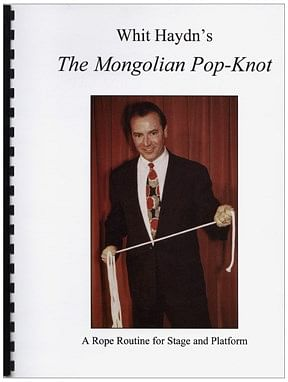 Mongolian Pop-Knot book - magic