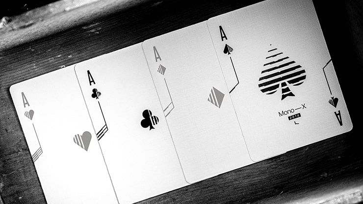 Mono - X Playing Cards