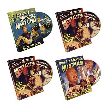 Monster Mentalism (4 DVD Set) - magic